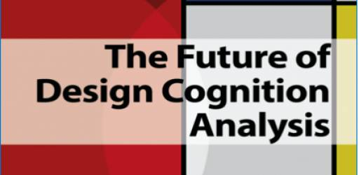 The future of design cognition analysis